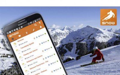 Stáhněte si aplikaci SNOW reporter!